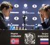 Șah: Meciul Magnus Carlsen – Serghei Karjakin s-a terminat la egalitate; miercuri se decide campionul mondial