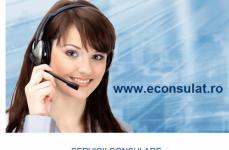 Află informații despre utilizarea platformei www.econsulat.ro și eliminarea taxelor consulare