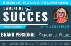 Brand Personal – Interviu cu Elena Badea