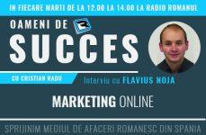 Interviu Flaviu Noja – Marketing Online