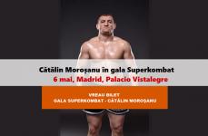 Cu cine se va lupta Moroșanu în MAREA GALĂ Superkombat: 6 mai, Madrid la Palacio Vistalegre
