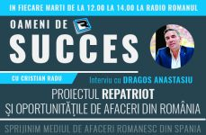 Interviu Dragos Anastasiu: Repatriot