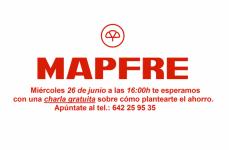 MAPFRE: Miércoles, 26 de junio, a las 16:00h te esperamos con una charla gratuita