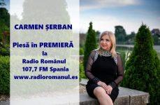 CARMEN ȘERBAN lansează în PREMIERĂ o nouă piesă la Radio Românul