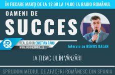 Interviu cu Remus Bălan – Ia-ți BAC-ul în vânzări