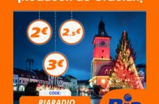 RIA Money Transfer îți face cadou o reducere între 2 și 3 Euro pentru viitoarele tale 3 trimiteri de bani!