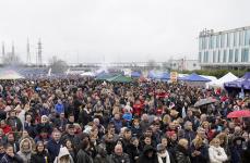Românii din Spania au petrecut de Ziua Națională a României în Torrejón de Ardoz, Madrid