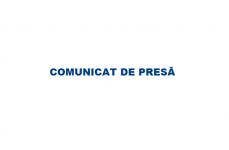 COMUNICAT DE PRESĂ – 29.02.2020