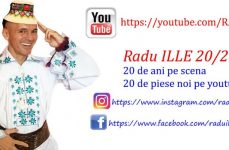"""Radu Ille: """"Pentru toți românii mei de pretutindeni am 20 de piese noi pentru că am împlinit 20 de ani de scenă!"""""""