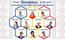 Participă la Festivalul Tezaur Românesc La Tine Acasă. Invitați 10 artiști dintre cei mai valoroși ai României