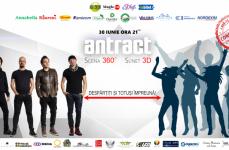 Trupa Antract va avea pe 30 iunie primul concert live 3D – cea mai mare producție muzicală de acest fel!