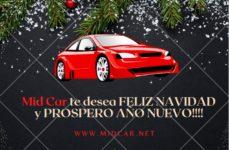 Mid Car vă urează Crăciun Fericit și un An Nou Împlinit!