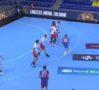 VIDEO Handbal masculin: Înfrângere onorabilă pentru Dinamo în Liga Campionilor, 32-36 cu campiona Barca